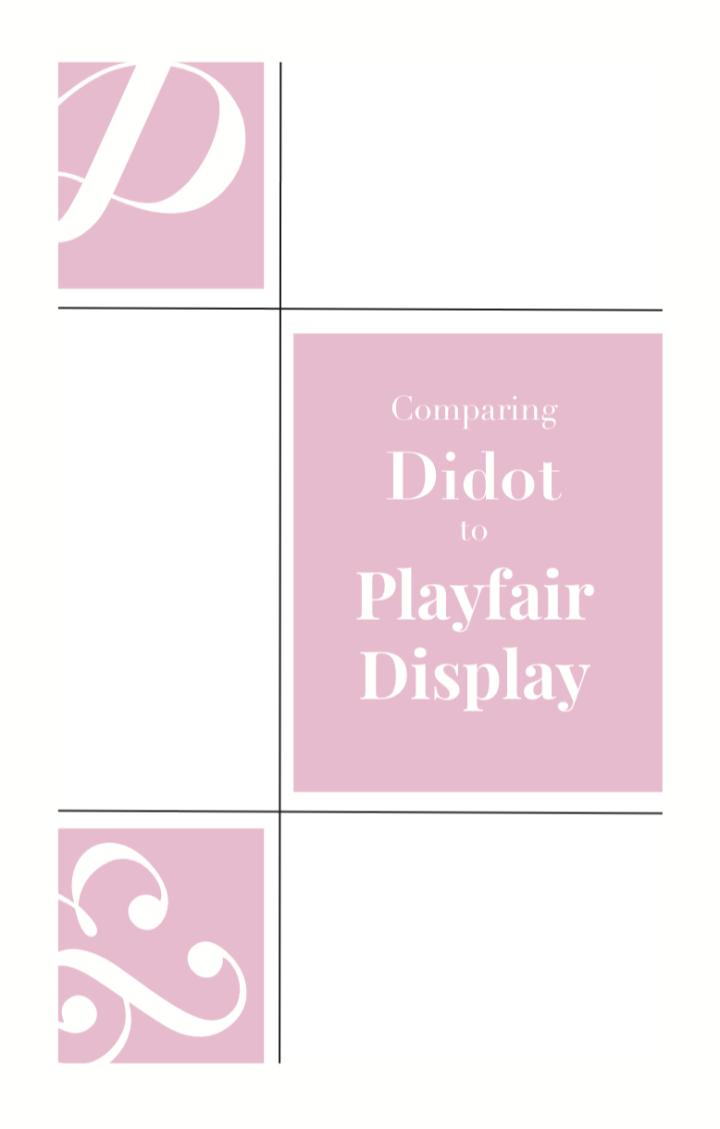 Graphic Design: FontBooklet